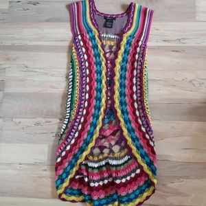 Other - Crochet multi color vest